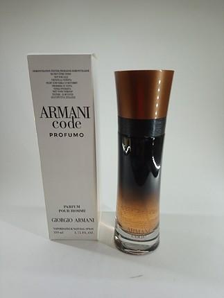 Giorgio armani code profumo 110 ml tester parfüm