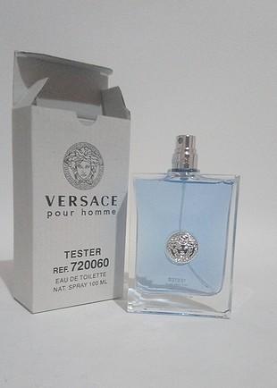 Versace pour homme 100 ml erkek tester parfüm