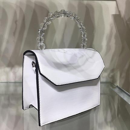 Boncuklu çanta