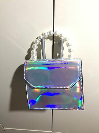 diğer Beden Hologram çanta