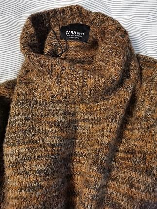 Zara Zara Enfes Balıkçı Tarz Kazak S
