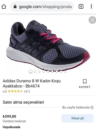 Adidas orijinal spor ayakkabı