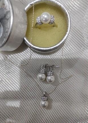 Gümüş takı seti