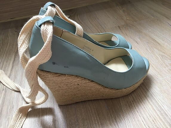 Koton Mantar topuk ayakkabı
