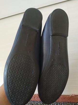 Flo Ayakkabı lacivert babet
