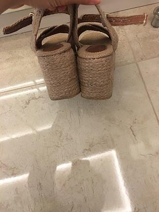 Zara Hasır Sandalet