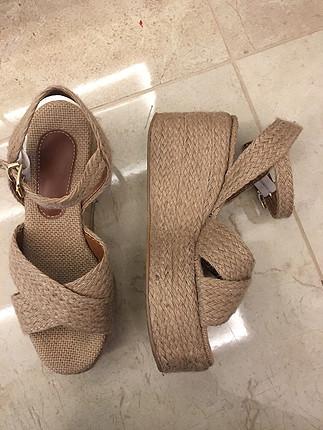36 Beden Hasır Sandalet