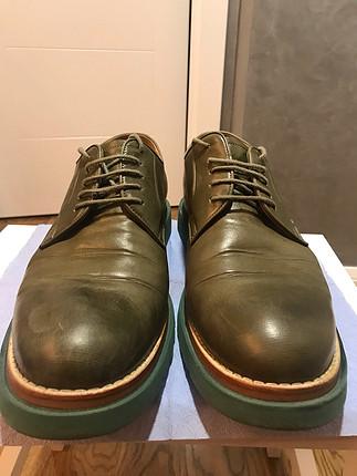 İnci marka yeşil erkek ayakkabı