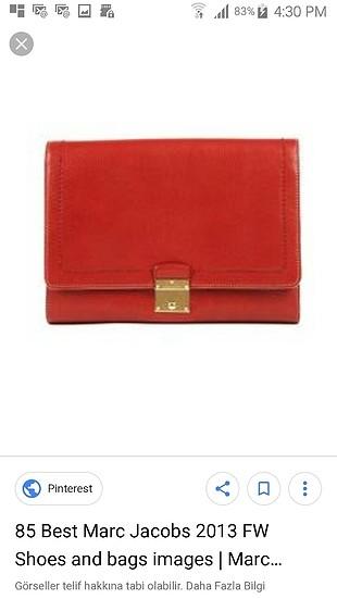 Marc Jacobs Kırmızı deri Çanta
