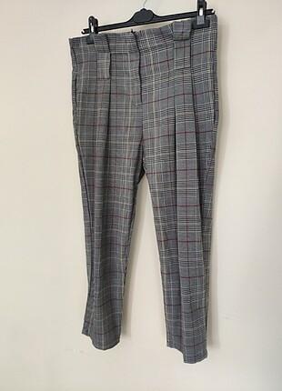 Ekose desenli pantolon