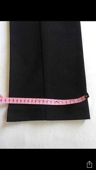40 Beden siyah Renk Klasik herry pantolon