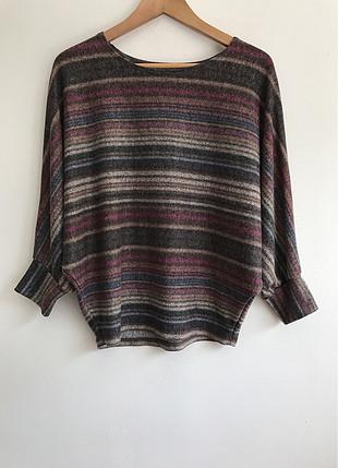 Renkli triko kazak