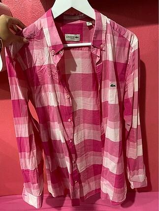 Lacoste kareli gömlek