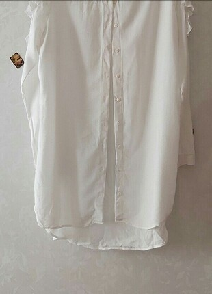 beyaz tunik gömlek