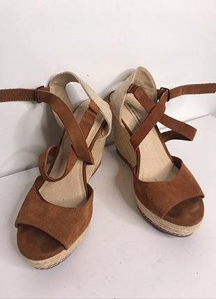 Oysho dolgu taban ayakkabı