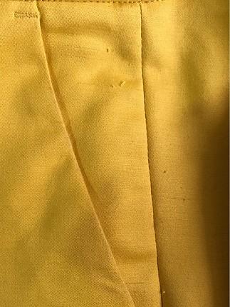 36 Beden sarı Renk Zara chino pantolon