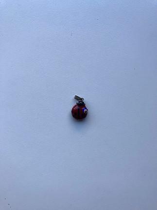 Uğur böceği kolye ucu