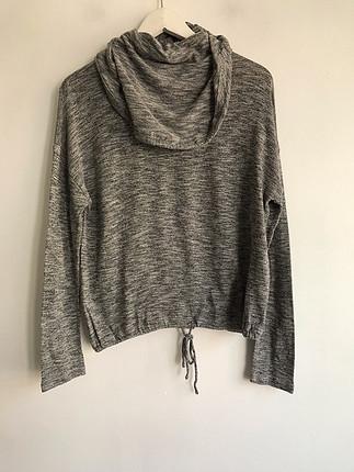 diğer Beden Kapşonlu sweatshirt