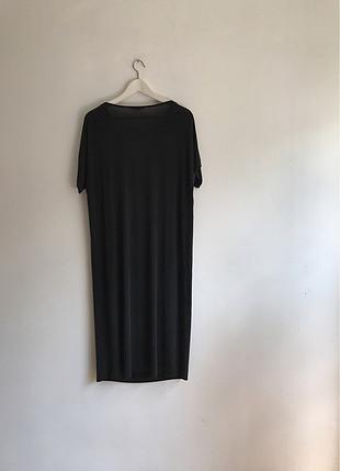 Uzun siyah elbise