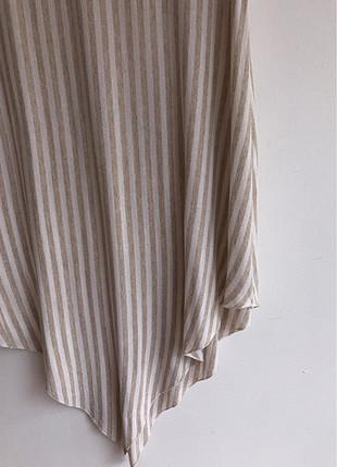 Çizgi detaylı uzun bluz