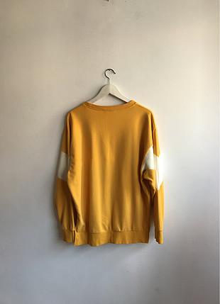 Sarı sweatshirt