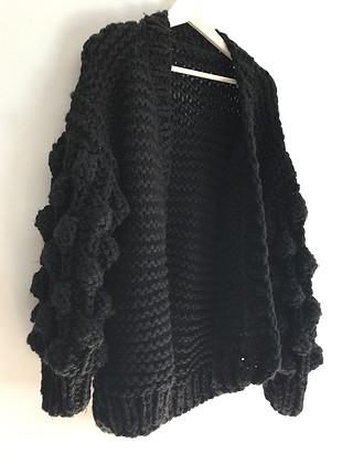 Siyah hırka