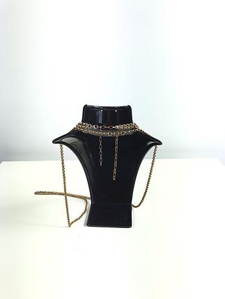 Uzun zincir kolye