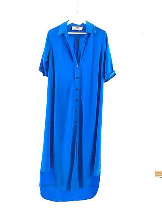 Diğer Uzun gömlek elbise