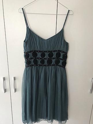 m Beden yeşil Renk Guess elbise