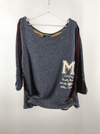 Askı Detaylı Sweatshirt