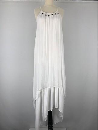 Halter Yaka Elbise