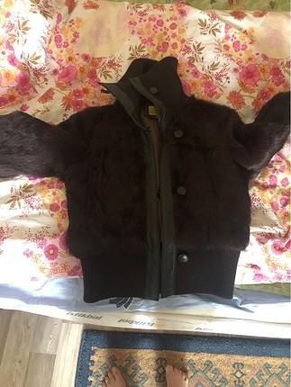 Kürk bambor ceket