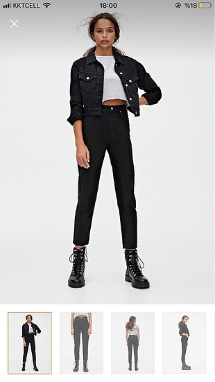 Pull and bear mom jean