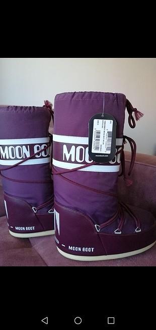 Orijinal Mor Moon Boot