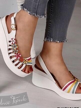 Dolgulu ayakkabı