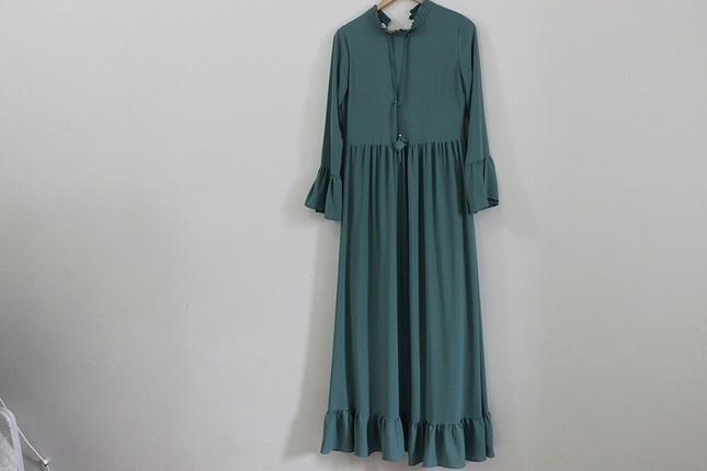 Yeşil Tesettur elbise