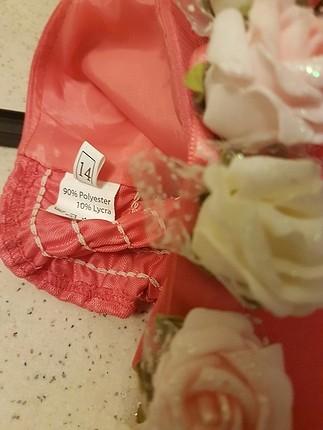 diğer Beden nar çiçeği Renk cocuk abiye.