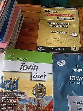 test ve özet kitapları 9.sınıf