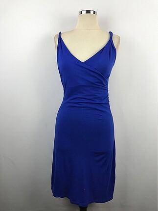 Askılı V Yaka Elbise