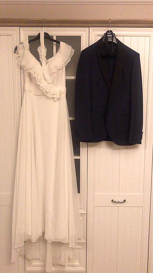 Gelin Evden ÇIkış-After Party Elbisesi