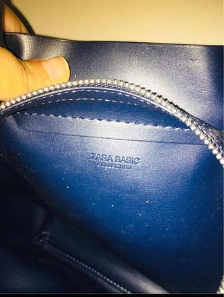s Beden lacivert Renk Zara çanta
