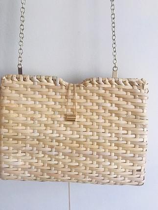 xs Beden Zara hasır çanta