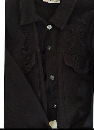 H&M Siyah kot ceket