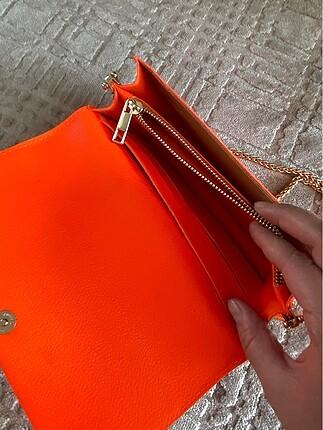 Beden Neon turuncu Polo orjinal çanta