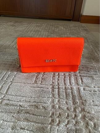 Beden turuncu Renk Neon turuncu Polo orjinal çanta