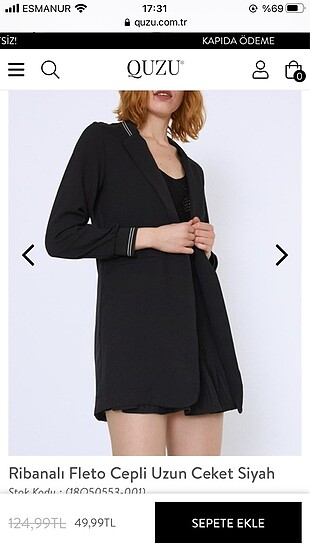 Quzu marka ceket