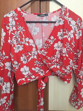 Addax Kırmızı Bluz