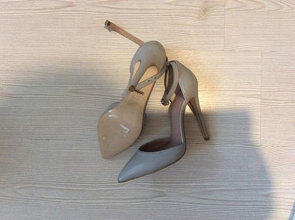 37 Beden gri Renk İnci ayakkabı
