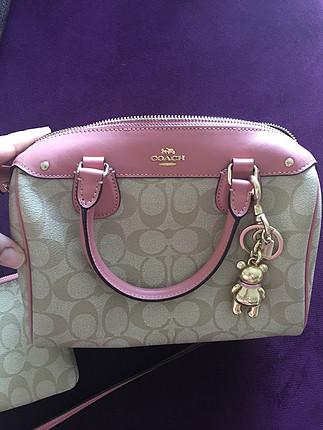 Coach çanta ve cüzdan