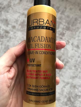 Urban Macademia Oil Fusion Durulanmayan Sıvı Saç Kremi